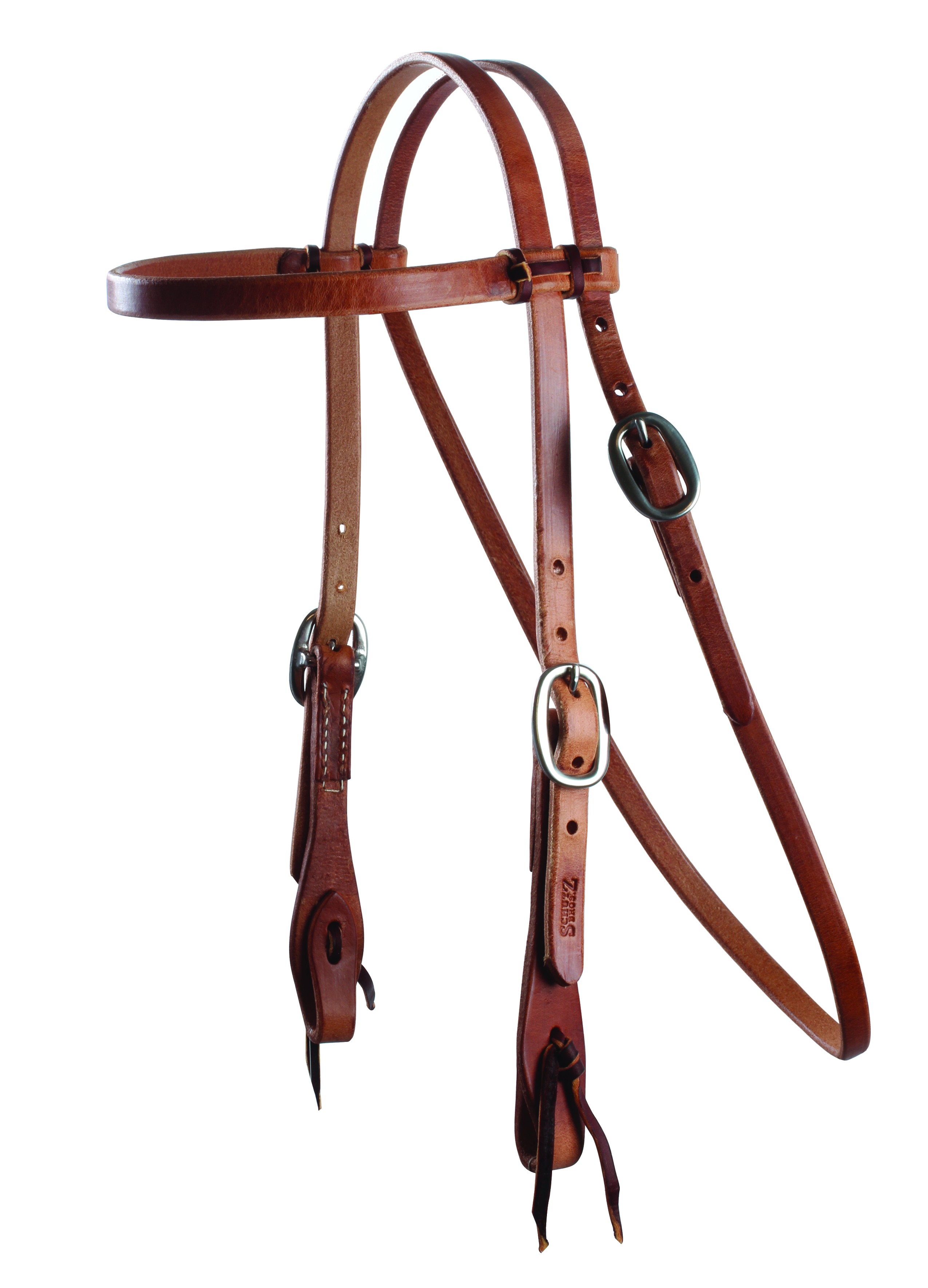 Schutz Brothers Headstall with browband and ties