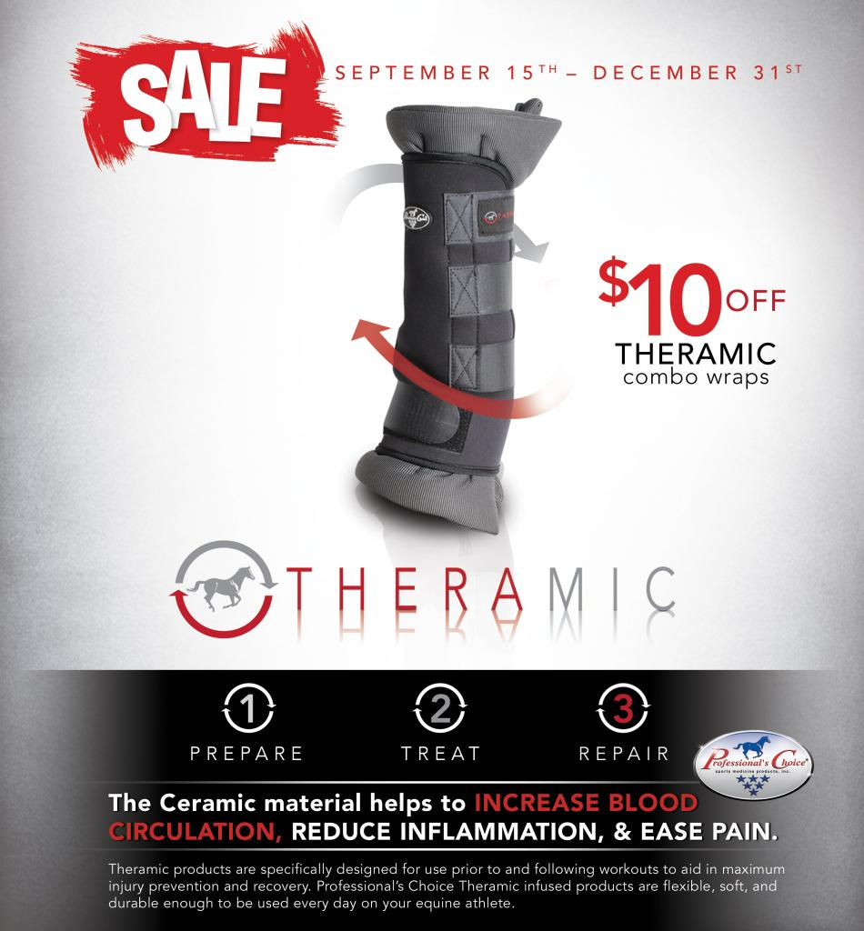Save $10 off Theramic Combo Wraps