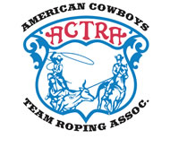 ACTRA Logo:  American Cowboys Team Roping Assoc