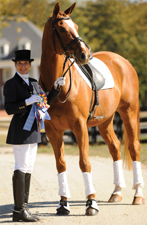 Denise also took home the USDF 3rd Level Adult Amateur Horse of the Year ...