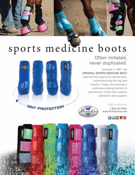 Sports Medicine Boots - Glitter