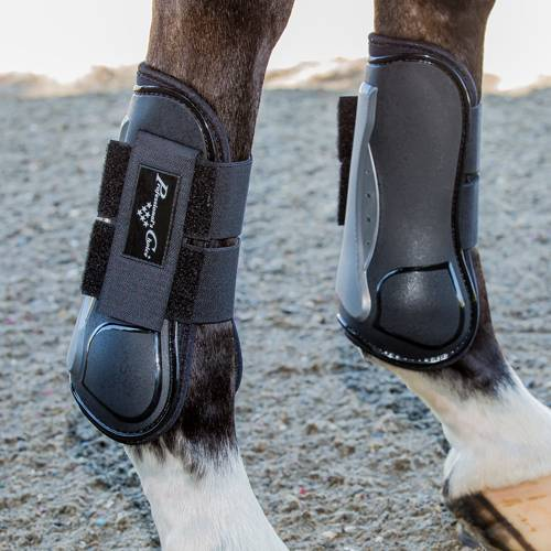 Pro Performance Memory Foam Open Front Show Jumping Boots-SALE