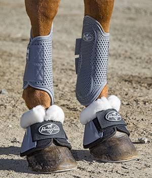 Professionals Choice - Spartan Fleece Bell Boots