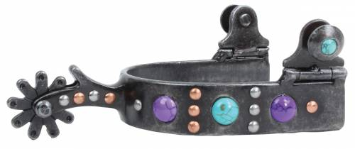PC Purple Dot Spur - Ladies/Youth