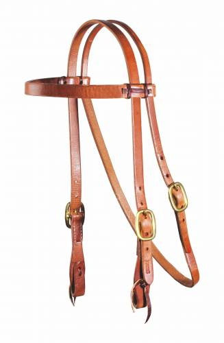 "Laced 3/4"" Headstall"