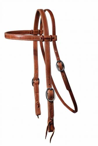Heavy Laced Browband Headstall