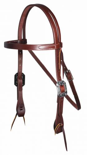 "Ranch 3/4"" Browband Headstall"