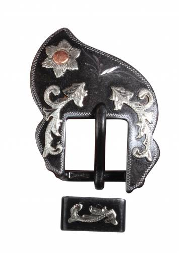 Heel Buckle & Keeper Elvis