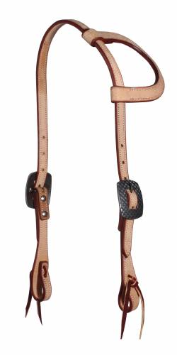 Rugged Roughout Sliding-Ear Headstall