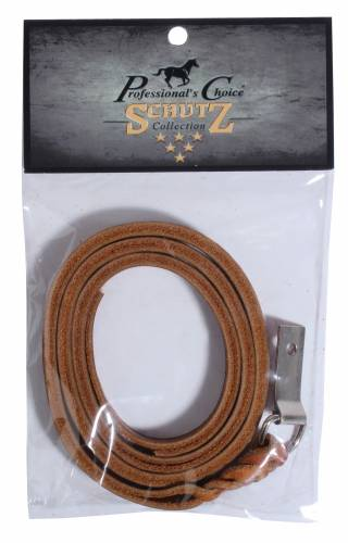 Plaited Saddle String with Concho-Tie