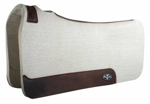 Steam Pressed Comfort-Fit Felt Saddle Pad