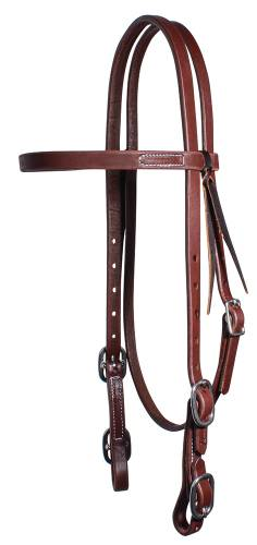 Ranch Browband Buckle Headstall