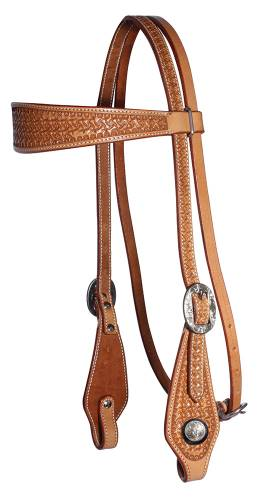 Windmill Collection - Browband Headstall - Natural