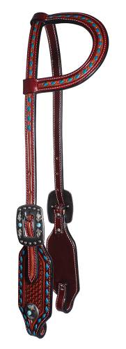 Basket Weave Collection - Single Ear Headstall