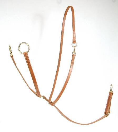 AD Big Ring Martingale with Sliding Neckstrap
