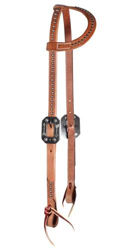 Spotted Sliding-Ear Headstall