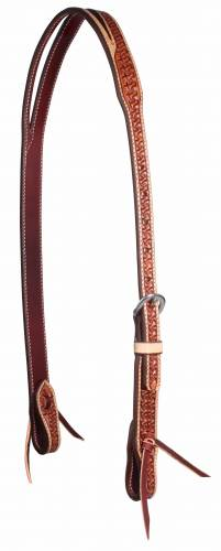 Windmill Collection - Natural Border Split Ear Headstall