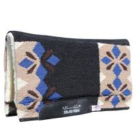 """Saddle Pads - Comfort-Fit Air Ride Pads - Sparkle Comfort-Fit SMx 1/2"""" Air Ride Saddle Pad"""