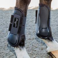 Boots & Wraps - Jumping Boots - Pro Performance Memory Foam Open Front Show Jumping Boots-SALE