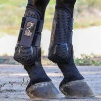 English - Clearance -  Pro Mesh Show Jump Boots