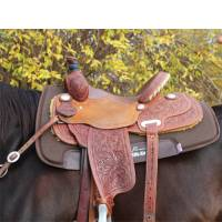 Saddle Pads - Barrel & Roper Pads - Professionals Choice - SMx Air Ride All-Around Saddle Pad