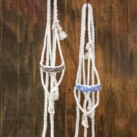 Western - Halters, Lead Ropes & Breast Collars - Cowboy Braided Rope Halter