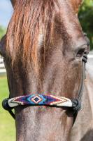 English - Halters, Lead Ropes & Breast Collars - Beaded Rope Halter