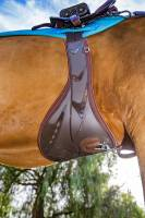 Cinches - CInch UP Girth Up - VenTECH Contoured Belly Guard Jump Girth