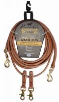Professional's Choice Schutz Collection - Reins - Rounded Draw Reins
