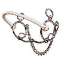 Bits & Spurs - Brittany Pozzi Collection - Brittany Pozzi Combination Series - Smooth Snaffle