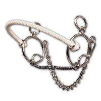 Bits & Spurs - Brittany Pozzi Collection - Brittany Pozzi Combination Series - Twisted Wire Snaffle