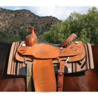 Western Saddle Pads - Navajo Blanket Tops - John Deere licensed by Professionals Choice - John Deere Navajo Blanket Top