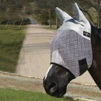 English - Fly Protection - Professionals Choice - Professional's Choice Fly Mask w/Ears