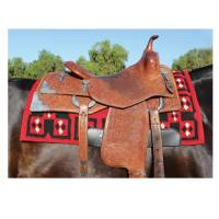 Featured Products - Professionals Choice - SMx H.D. Air Ride™ Saddle Pad - Quartz