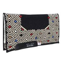 Saddle Pads - Comfort-Fit Air Ride Pads - Canyon: Comfort-Fit SMx Air Ride Western Pad (Merino Wool Bottom)