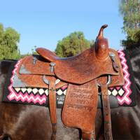 Saddle Pads - SMx Air Ride Pads - Professionals Choice - SMx H.D. Air Ride Western Saddle Pad: Shilloh